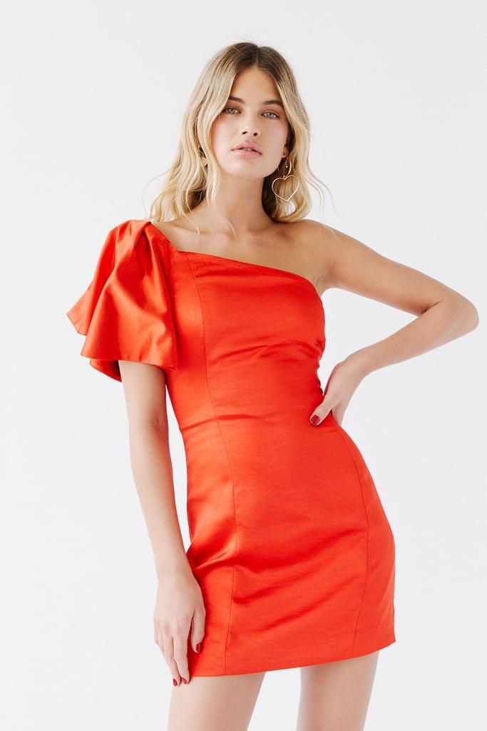 Cara One-Shoulder Micro Mini Dress