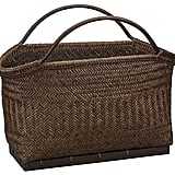 Crate & Barrel Pramana Magazine Basket ($79.95)