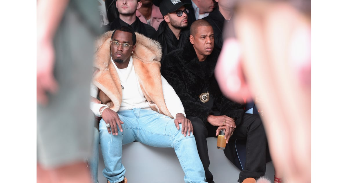 P Diddys Birthday Party Kanye West Jay Z Beyonce