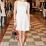 Chelsea Leyland at Saks Fifth Avenue's Spring 2013 Joie celebration in New York. Photo: Leandro Justen/BFAnyc.com