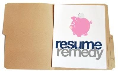 Resume Remedy 2008-04-29 12:57:21