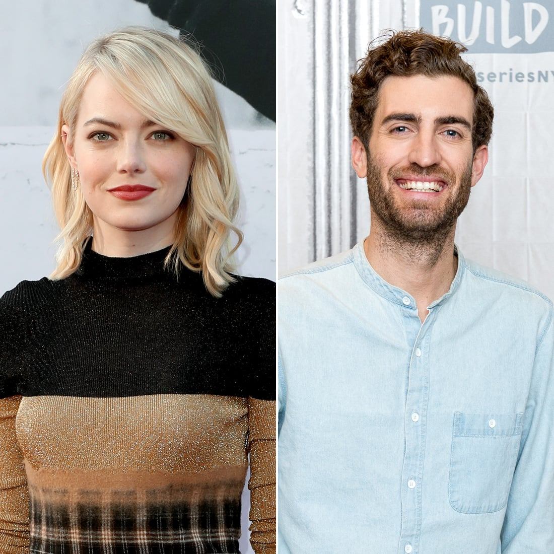 dating emma stone On the heels of superbad, stone appears in the rocker, alongside the office's rainn wilson and teddy geiger, whom she begins dating off screen.