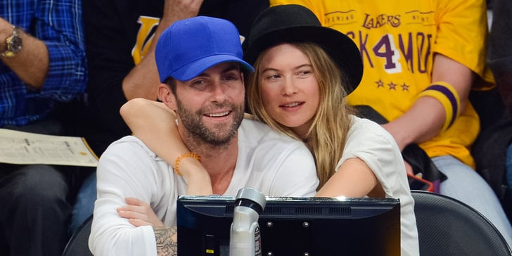 Behati Prinsloo and Adam Levine Engagement Ring Tattoos ...