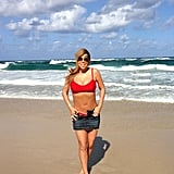 Back in January 2013, Mariah Carey showed off her bikini body on the beach in Australia.