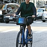 Naomi Watts went on a bike ride in NYC on Friday.