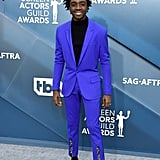Caleb McLaughlin at the 2020 SAG Awards