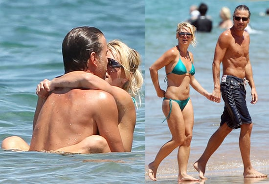 Pictures of Britney Spears in Bikini and Jason Trawick Shirtless in Hawaii