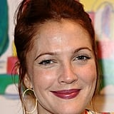 Drew Barrymore flashed a smile.