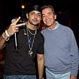 Sean Paul and Dick Clark teamed up in November 2003 for the American Music Awards.