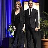 Ryan Gosling and Emma Stone at Santa Barbara Film Festival