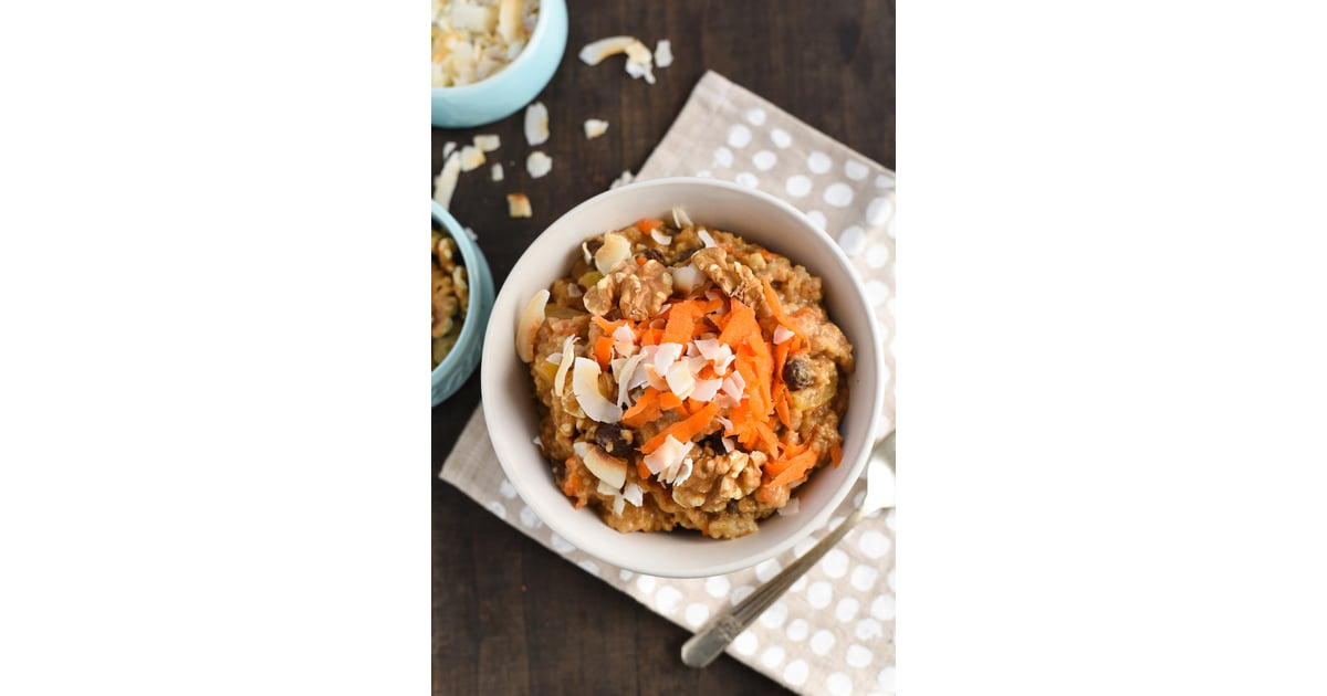 Slow Cooker Carrot Cake Oatmeal