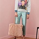Prada Shearling Tote Bag