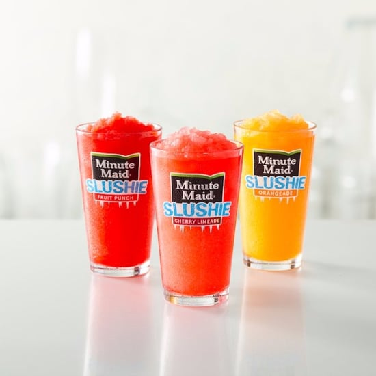 McDonald's Minute Maid Slushies