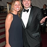 Jimmy Fallon and Nancy Juvonen in May 2007