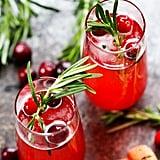Cranberry Ginger Bellini