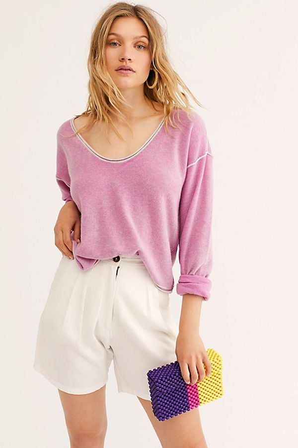 Free People Forever Cashmere Washed Sweater