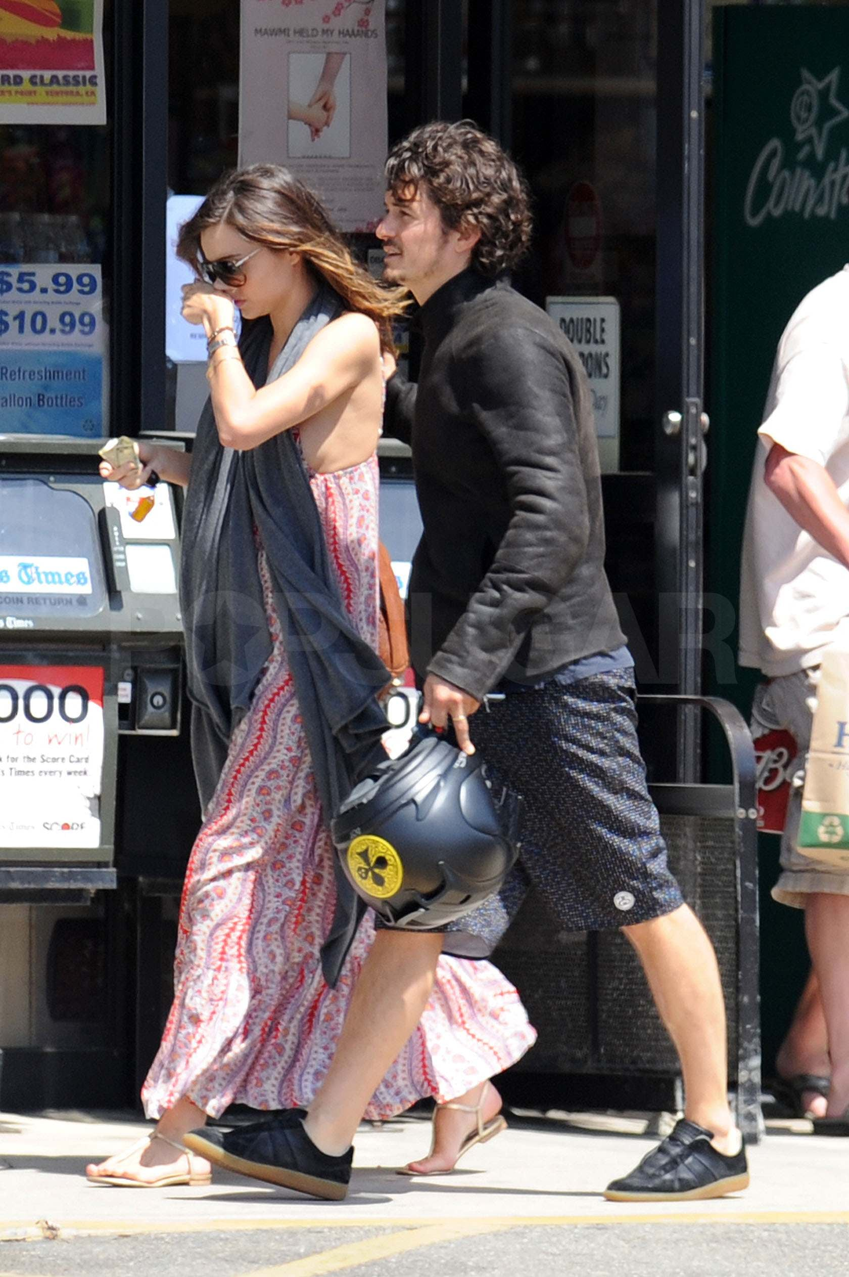 Orlando bloom wife and baby