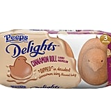 Peeps Delights Cinnamon Roll-Flavored Marshmallow Dipped in Cinnamon Icing-Flavored Fudge