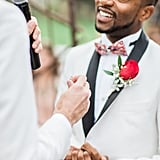 This Glitter-Filled Wedding Had Such a Sweet Surprise For the Color-Blind Groom