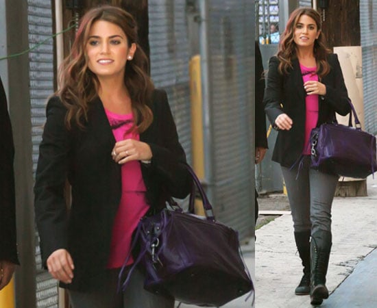 Pictures of Nikki Reed on Jimmy Kimmel