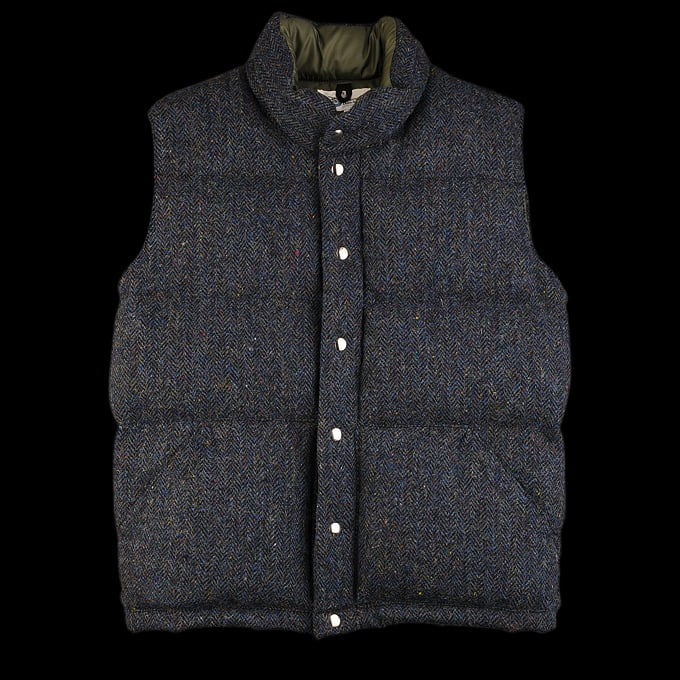 Unionmade Harris Tweed and Crescent Down Vest