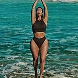 Kim Kardashian's Skims Stretch Rib Collection Campaign Imagery