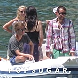 Kate Hudson vacationed with friends and family.