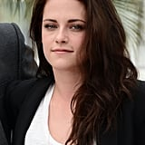 Kristen Stewart posed at the On the Road photocall at the Cannes Film Festival.