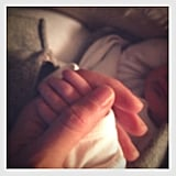 Gisele Bündchen publicly shared the first picture of baby Vivian Lake Brady in December. Source: Facebook Bündchen