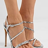 Our Pick: Stuart Weitzman Follie Metallic Sandals