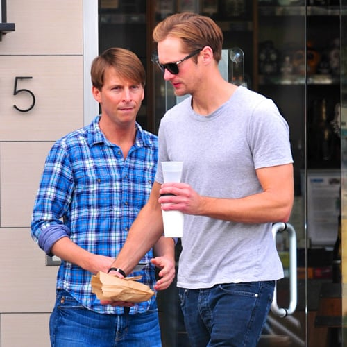 Alexander Skarsgard and Jack McBrayer Are Friends (Pictures)