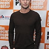 Chace Crawford attended the NY Film Festival premiere of Martha Marcy May Marlene.