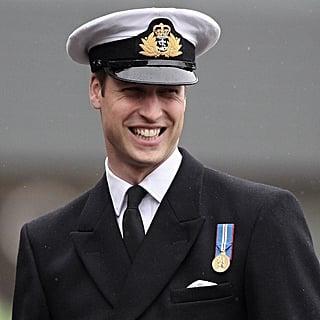 Prince William in Uniform Pictures