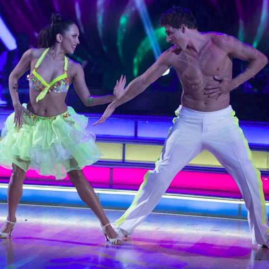 Ryan Lochte Shirtless on Dancing With the Stars