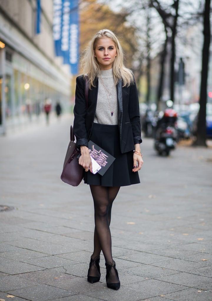 Comment Etre Chic En Hiver Photos Street Style