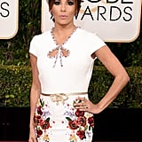 Eva Longoria's Dress at the 2016 Golden Globes