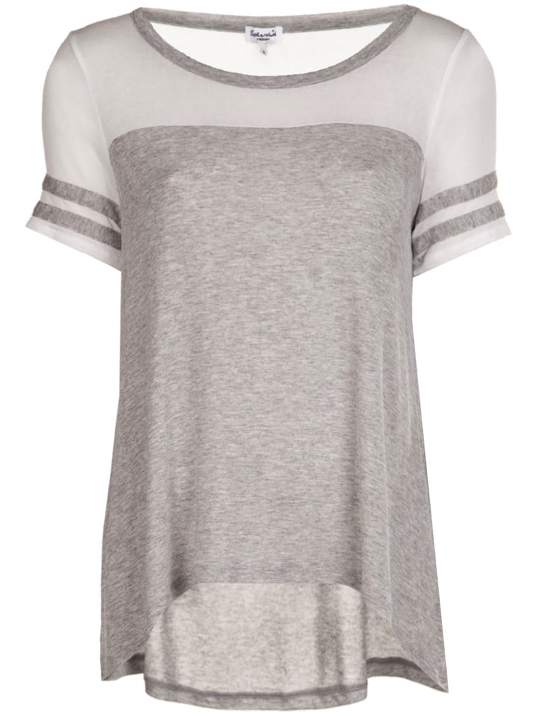 Play it neutral in Splendid's subtle style ($71) and give your regular gray t-shirt the day off.