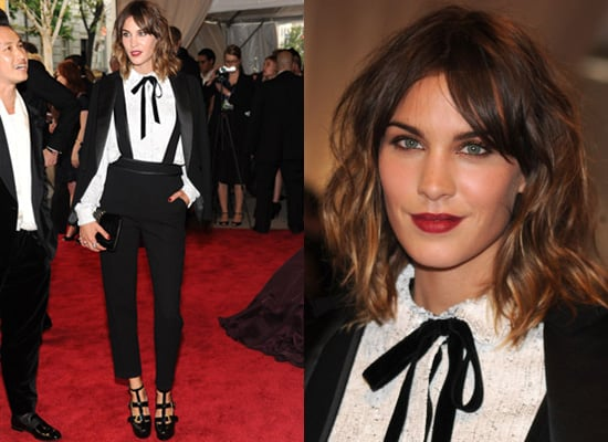 Photos of Alexa Chung at the 2010 MET Costume Institute Gala