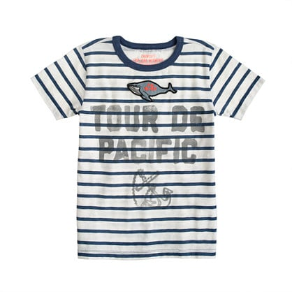 Nautical stripes are a Summer staple — this Striped Whale Tee ($33) adds a special twist.
