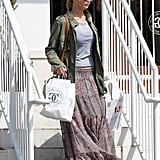 Jennifer Lawrence made a stop at William-Sonoma in LA.