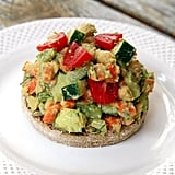 Side Dish: Smashed Avocado Chickpea Salad