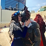Game of Thrones Proposal at Comic-Con