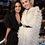 Miley Cyrus and Vanessa Hudgens at Billboard Music Awards