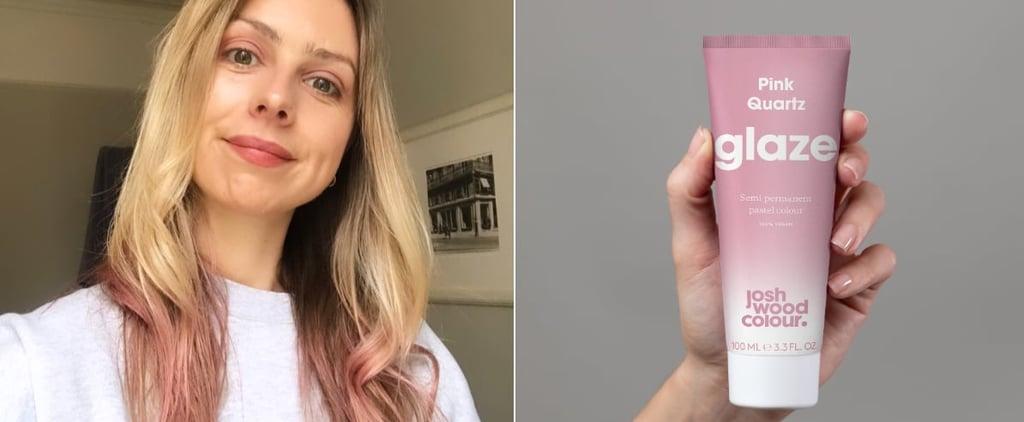 Josh Wood Colour's Pink Quartz Glaze Review With Photos