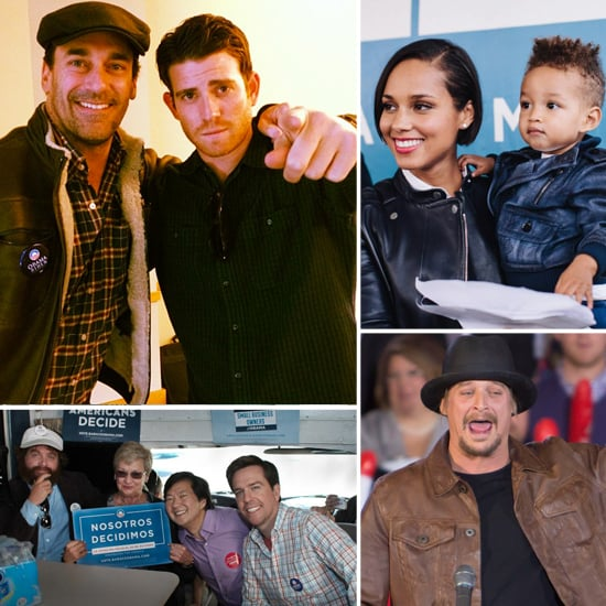 The Election's Tomorrow — See Stars Helping to Get Out the Vote