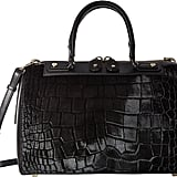 Alice + Olivia Croc Embossed Eloise Bag
