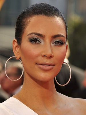 Photo of Kim Kardashian at 2009 Primetime Emmy Awards