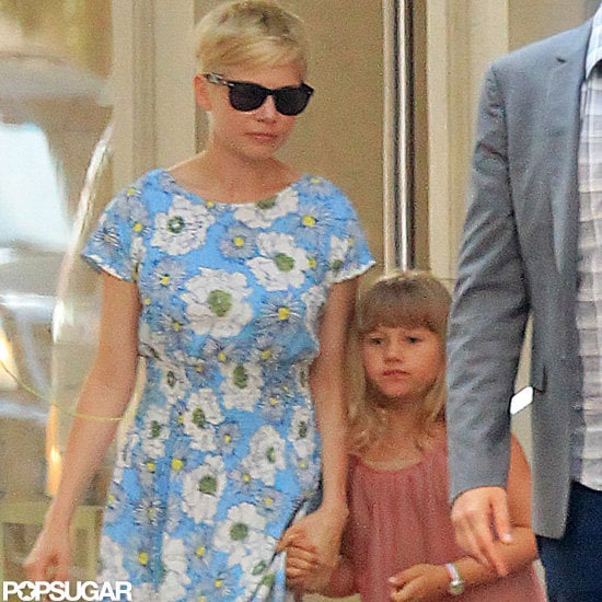 Michelle Williams and Matilda Ledger shopped in NYC.