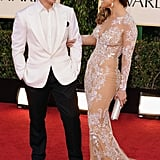Jennifer Lopez and Casper Smart