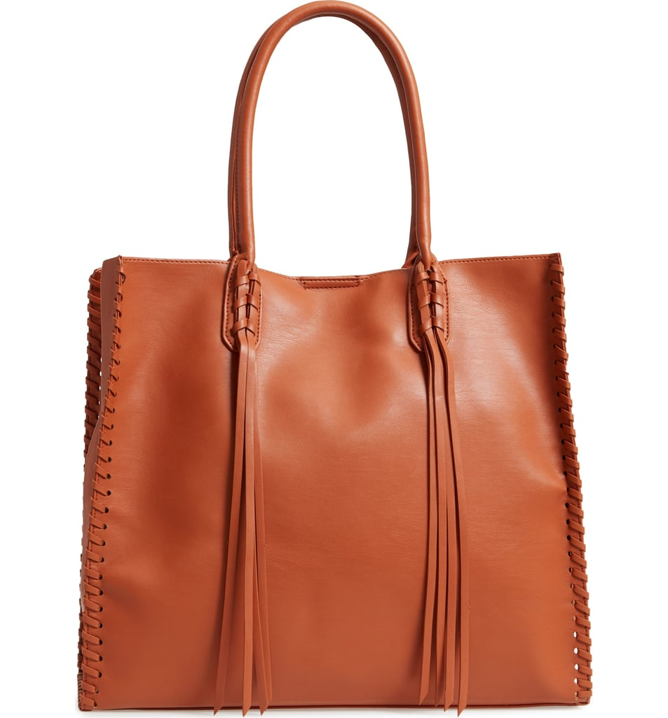 Emperia Cadence Faux Leather Whipstitch Tote